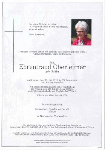 Ehrentraud Oberleitner