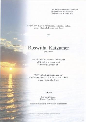 Roswitha Katzianer