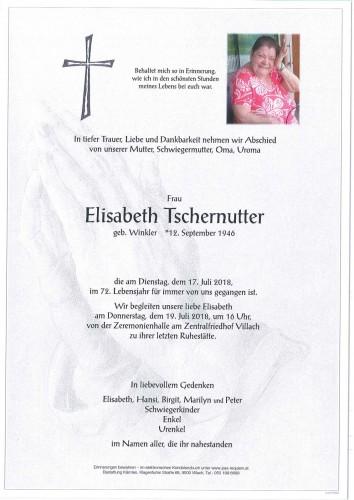 Elisabeth Tschernutter