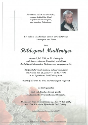 Hildegard Madleniger
