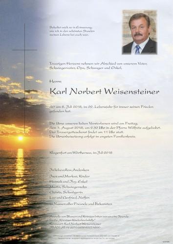 Karl Norbert Weisensteiner