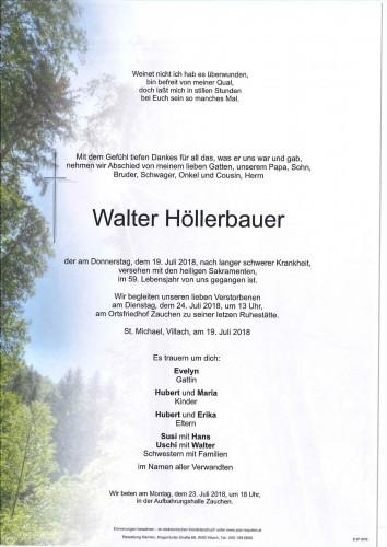Walter Josef Höllerbauer