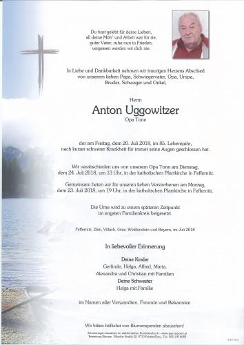 Anton Uggowitzer