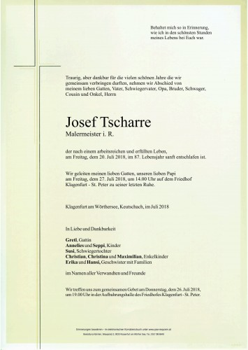 Josef Tscharre