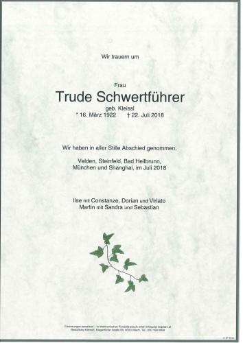 Gertrude Schwertführer