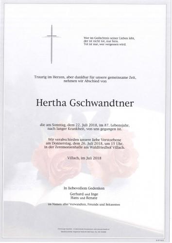 Hertha Gschwandtner