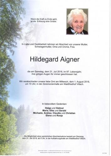 Hildegard Aigner