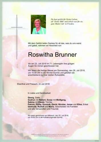 Roswitha Brunner