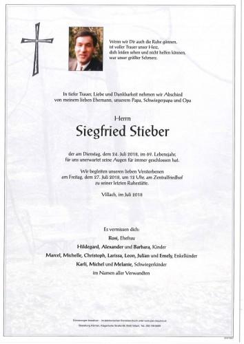 Siegfried Stieber