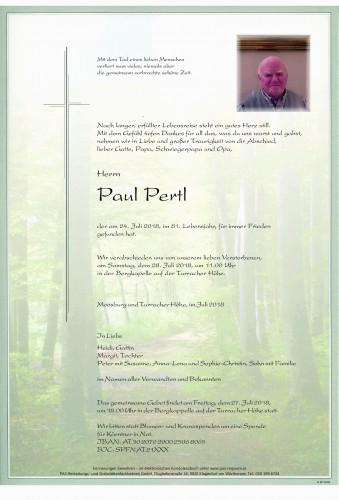 Paul Pertl