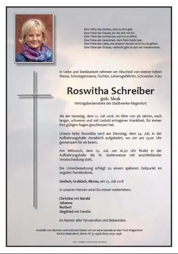 Roswitha Schreiber