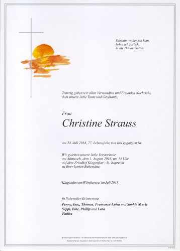 Christine Strauss
