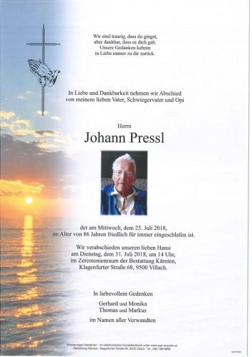 Johann Pressl