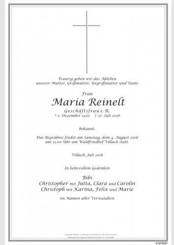 Maria Reinelt