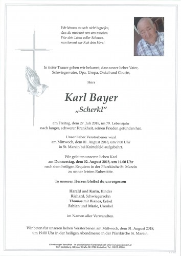 Karl Bayer