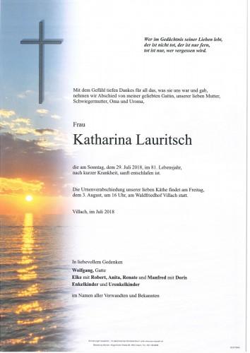 Katharina Lauritsch