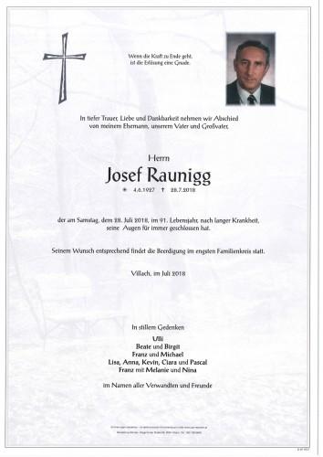 Josef Raunigg