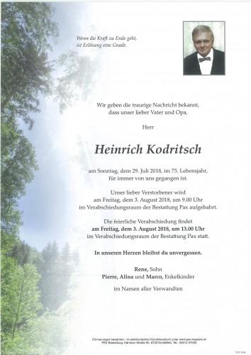 Heinrich Kodritsch