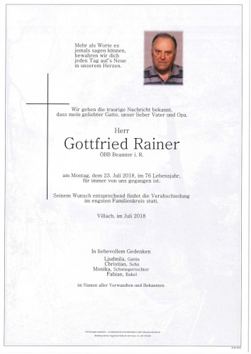 Gottfried Rainer