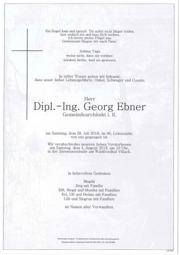 Dipl.-Ing. Georg Ebner