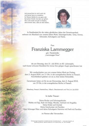 Franziska Lammegger