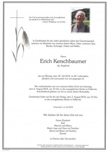 Erich Kerschbaumer