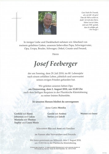 Josef Feeberger