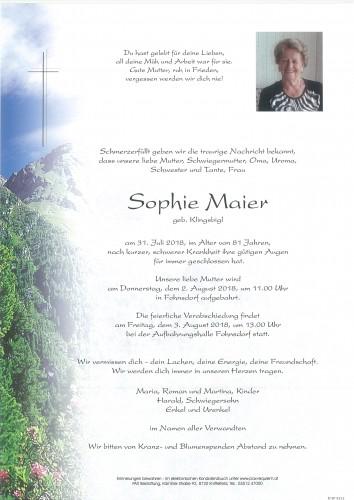 Sophie Maier