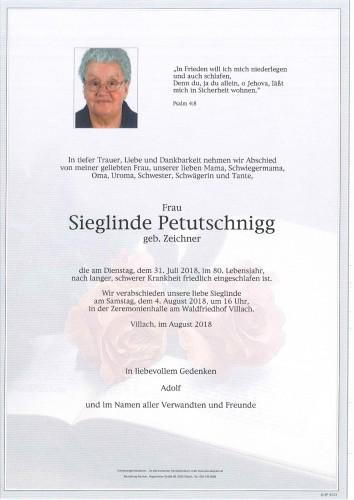 Sieglinde Petutschnigg