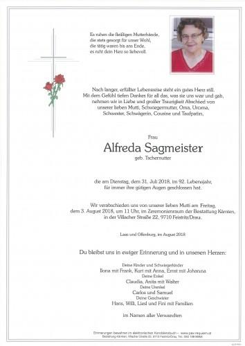 Alfreda Sagmeister