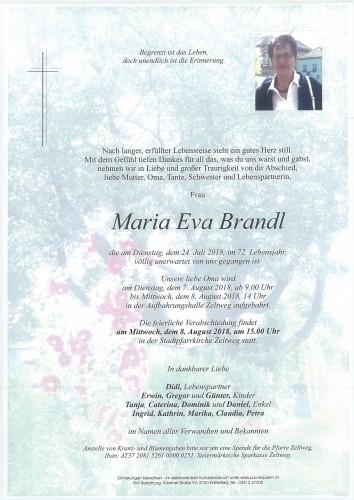 Maria Eva Brandl