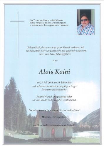 Alois Koini