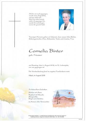 Cornelia Binter