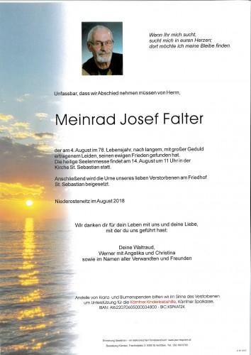 Meinrad Josef Falter