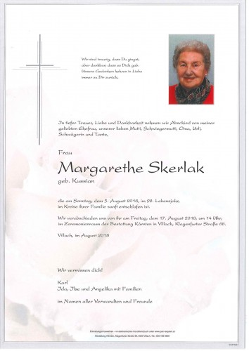 Margarethe Skerlak