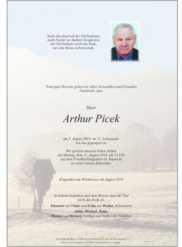 Arthur Picek