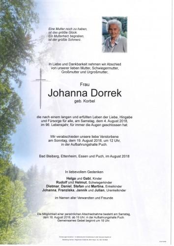 Johanna Dorrek