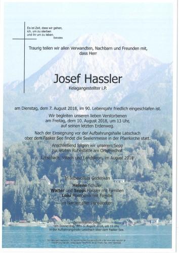Josef Hassler