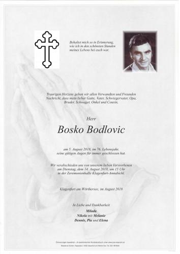 Bosko Bodlovic