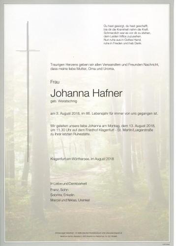 Johanna Hafner