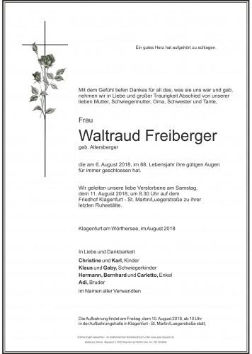 Waltraud Freiberger
