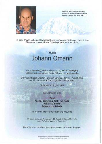 Johann Omann jun.