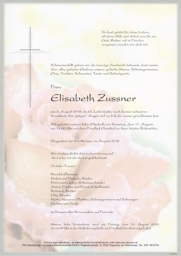 Elisabeth Zussner