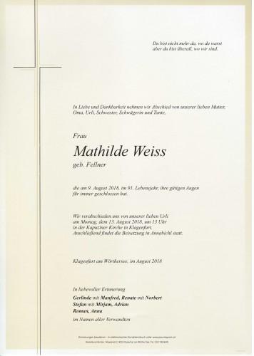 Mathilde Weiss