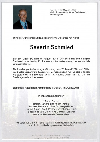 Severin Schmied sen.