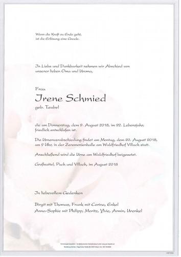Irene Schmied