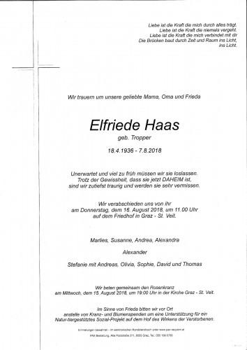 Elfriede Haas