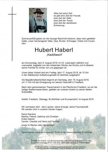 Hubert Haberl