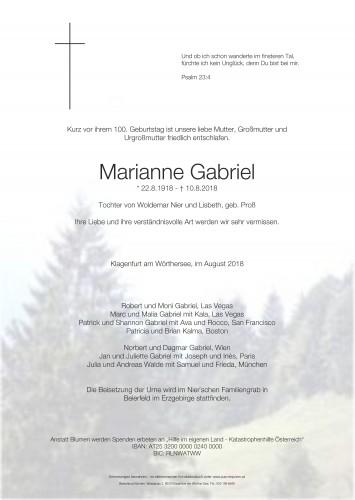Marianne Gabriel