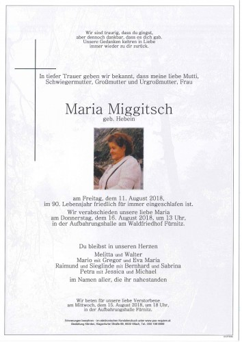 Maria Miggitsch